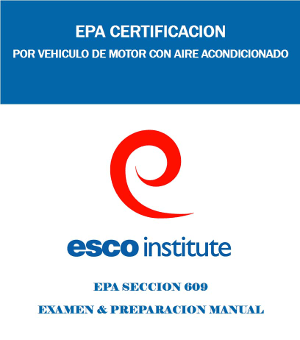 Section 609 Epa Certification