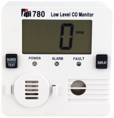 TPI 780 Low Level Carbon Monoxide Detector